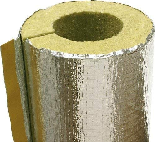 Aislamiento para tubo de escape, chimenea 110 – 180 mm, aluminio, aislamiento de tubo de humo, calefacción, aislamiento de tubo de humo, tamaño 90 mm: Amazon.es: Bricolaje y herramientas