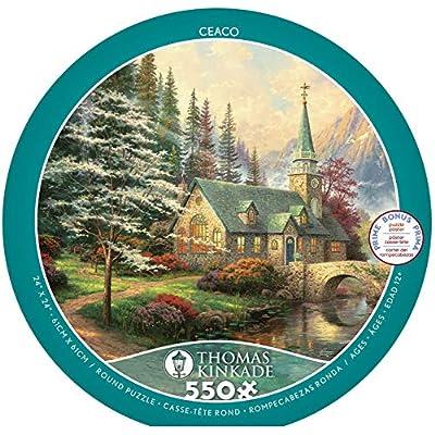 Ceaco 2414 1 Puzzle Thomas Kinkade 550 Pezzi