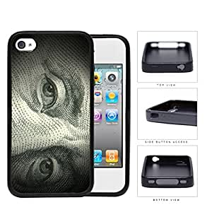 Benjamin Franklin 100 Dollar Bill Rubber Silicone TPU Cell Phone Case Apple iPhone 4 4s