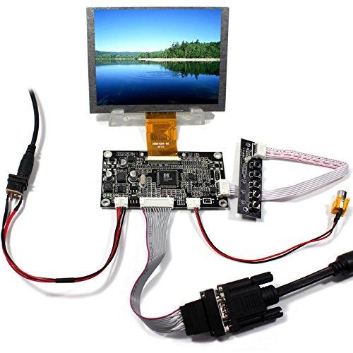 NJYTouch VGA AV LCD Controller Board Kit with 5inch ZJ050NA 08C 640x480 LCD Screen - 640 X Lcd 480