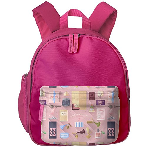 Grand Budapest Hotel Comfy School Bags,Custom Cute Children Shoulder Daypack,Print Backpack For (Budapest Hotel Costume)