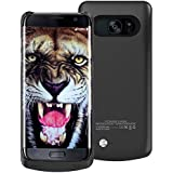 Alegant Galaxy S6 Edge plus Battery Case, Portable Backup Power Bank Case 4200mAh Ultra Slim Rechargeable Extended Charging Case for Samsung Galaxy S6 Edge plus (black)