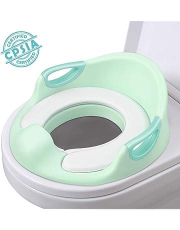 AiKiddo Asiento Inodoro para Niños, Reductor de WC para Bebé, Reductor Infantil como Protector