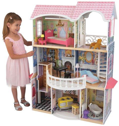 KidKraft Magnolia Mansion Dollhouse with Furniture