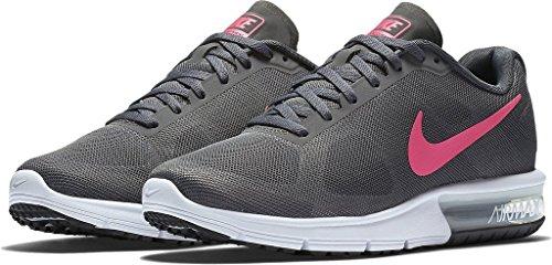 buy online 87376 dbac8 Women s Nike Air Max Sequent Sequent Sequent Running Shoe Black Grey White Hematite  Size 10 M US Parent B014ECGWBK d422c0