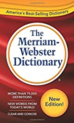 This is the newest edition (2016 copyright) of the best-selling dictionary covering core vocabulary of everyday life. More than 75,000 updated definitions, pronunciations, word origins, and synonym lists. Some 8,000 usage examples aid underst...