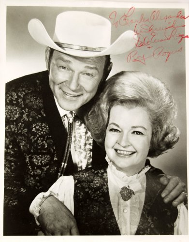 Roy Rogers & Dale Evans Rogers Signed Vintage 8x10 for sale  Delivered anywhere in USA