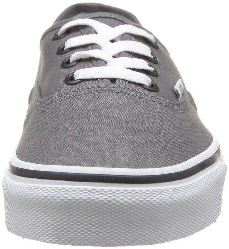 Unisex Pewter Vans Black Adulto Zapatilla Authentic Baja Gris wqYart6Yx