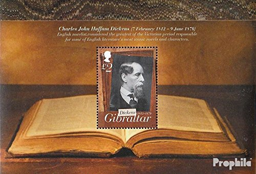 Gibraltar block107 (Complete.Issue.) 2012 Charles Dickens (Stamps for Collectors)