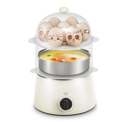 Caldera De Huevos Eléctrica Doble Capa De Vapor De Alimentos con Capacidad DE 14 Huevos con