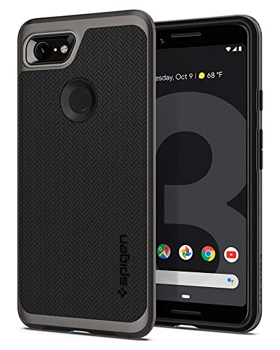 Spigen Neo Hybrid Designed for Google Pixel 3 Case (2018) - Gunmetal ()