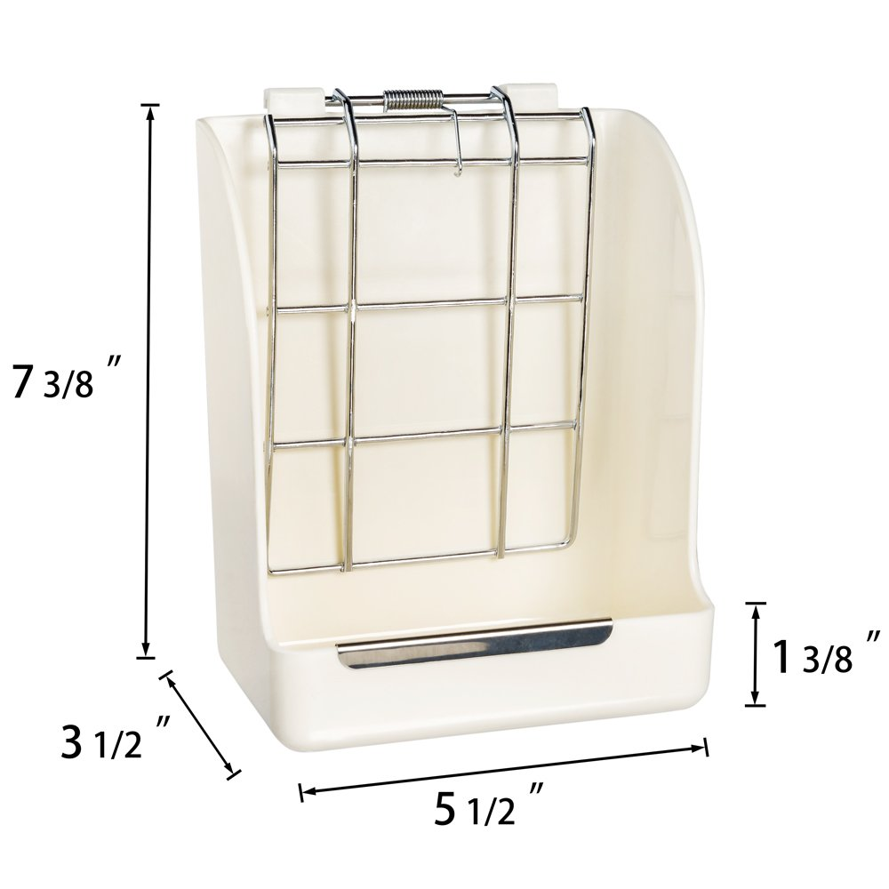 Mkono Hay Feeder Less Wasted Hay Rack Manger for Rabbit Guinea Pig Chinchilla by Mkono (Image #6)