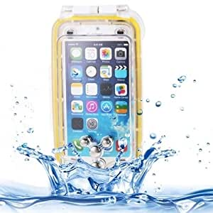 Sunny&Baby IPX8 Waterproof Cover for iPhone 6 & 6S Dustproof Shell Shockproof Protective Case with Lanyard Anti-skid IP6 ( Color : White )