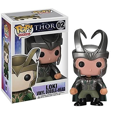 Amazon.com: Funko POP Marvel Thor 02 Loki vinilo Bobblehead ...