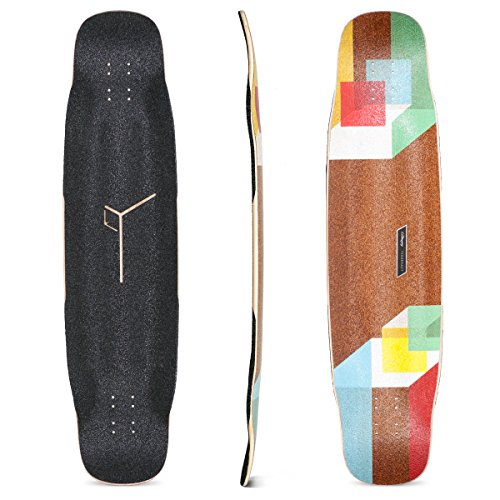Loaded Boards Tesseract Bamboo Longboard Skateboard Deck (Original)