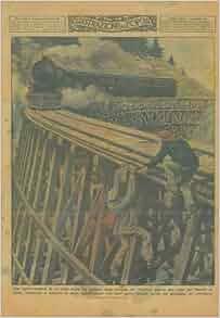 Treno su viadotto della ferrovia del Pacifico : ORTELLI