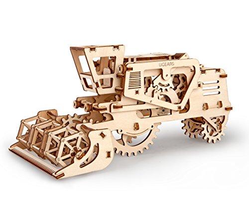 [해외]Mechanical 3d Combine Puzzle by UGEARS / Mechanical 3d Combine Puzzle by UGEARS