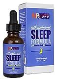 Natural Powers All-Natural Sleep Formula with Valerian Root & Melatonin - Liquid for Fast Absorption - 1 FL OZ. (30mL)