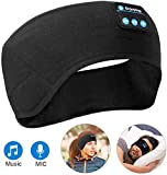 Music Headband Headsets, Bluetooth Sleeping Running Headphones Headband Sports