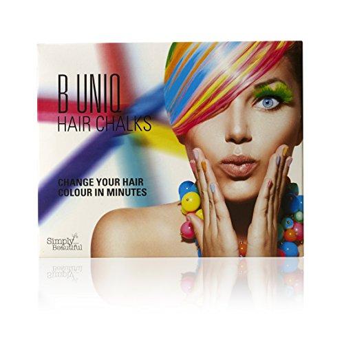 🥇 Tizas de colores para el pelo de B Uniq