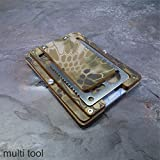 MultiWallet Highlander Edition. Kydex Tactical Wallet With Money Clip and Multitool