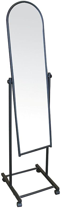 Standspiegel Ankleidespiegel Ganzkorperspiegel Kippspiegel Rollbar