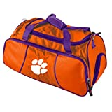 NCAA Clemson Tigers Athletic Duffel Bag by Logo Brands