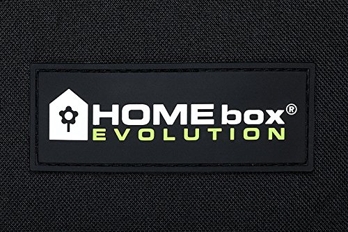 HomeBox Evolution Q100 Grow Tent - 100cm x 100cm x 200cm