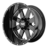 Moto Metal MO962 20x10 Black Wheel / Rim 5x5.5 & 5x150 with a -24mm Offset and a 110.50 Hub Bore. Partnumber MO96221086324N