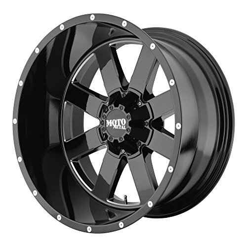 Moto Metal MO962 17x10 Black Wheel / Rim 8x6.5 with a -24mm Offset and a 125.50 Hub Bore. Partnumber (10 X 8 Aluminum Wheel)