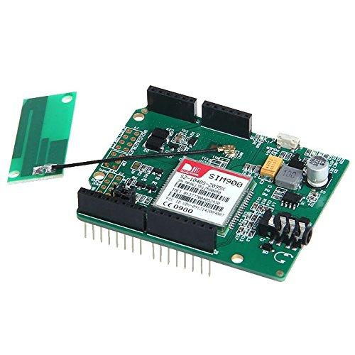 SIM900 Shield Board Quad-Band Module Kit For Arduino Compatible - 1