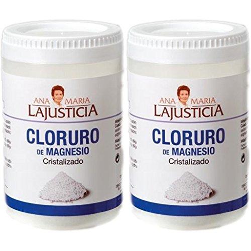 CLORURO DE MAGNESIO 2 x 400mg. Ana Maria Lajusticia: Amazon.es: Salud y cuidado personal