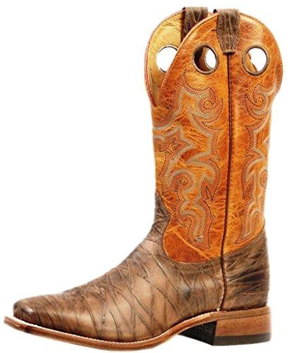 Bottes américaines - bottes western BO-3209-65-E (pied normal) - Homme - Marron