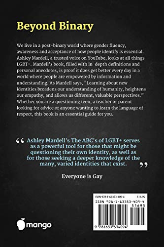 The ABC's of LGBT+: (Gender Identity Book for Teens)