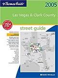 Atlas 2005 Clark County Metropolitan Area, Nevada, Thomas Bros Maps, 052885450X