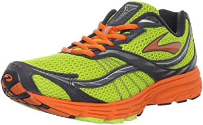 Brooks Men's Launch Running Shoe,Lime Punch/Energy/Anthracite/Silver/White/Black,12.5 D US