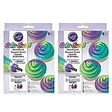 Wilton ColorSwirl 3-Color Coupler 9-Piece Decorating Kit, 2 pack