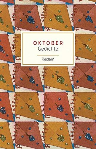 Oktober: Gedichte (Reclams Universal-Bibliothek)