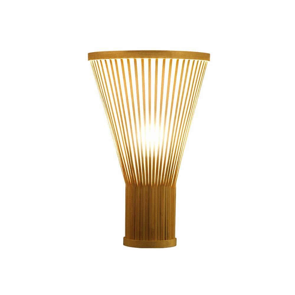 Skingk Applique Da Parete In Stile Giapponese Bamboo Zen Zen Southeast Asia Hotel Led Soggiorno Camera Da Letto Lampada Da Comodino Applique Da Parete Nuovo Cinese Antico B B Inn E27