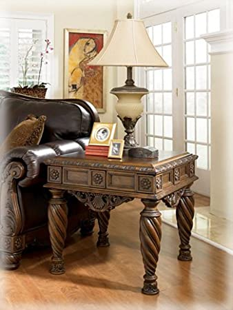 furniture stores north shore sydney signature design end table square dark brown ashley reviews