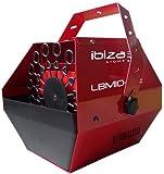Ibiza LBM10-RE Machine à bulles Rouge