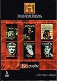 THE HISTORY CHANNEL [BIOGRAPHY] 10 DVD'S [CHAPLIN,WILDE,VANGOGH,CALIGULA Y MAS....[NTSC/REGION 1 & 4 DVD. Import-Latin America].