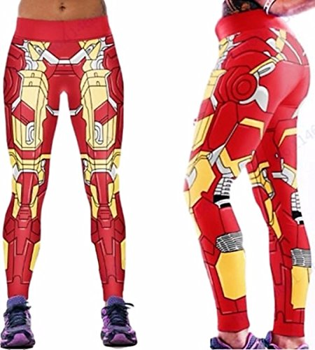 Super Heroes One Size Fits Most Novelty Cosplay Leggings Multiple Styles ()
