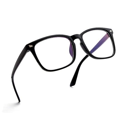 3761de1606 SIPU Unisex Stylish Square Non-prescription Eyeglasses Glasses Clear Lens  Eyewear Frame …
