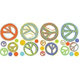 RoomMates RMK1859SCS Mod Peace Signs Peel and Stick Wall Decals