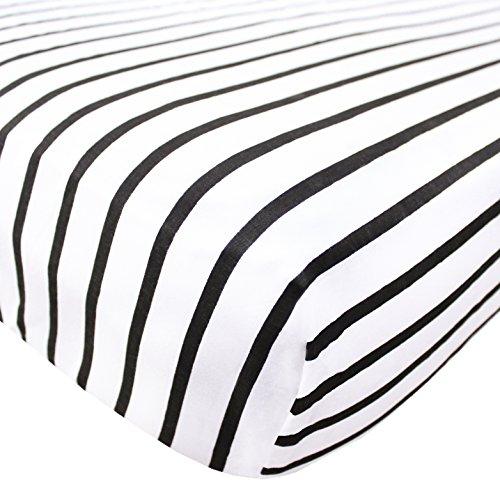 (Premium Fitted Cotton Crib Sheet / Toddler Sheet