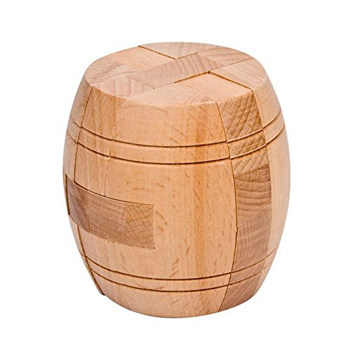 - Ahyuan Handmade Powder Barrel Wooden Puzzles for Adults an Interlocking 3D Brain Teaser Puzzles for Adults Hidden Passage Works on a Classic Mechanical Puzzle Concept