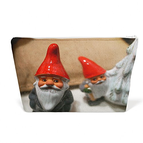 Figurines Pencil Santa (Westlake Art - Garden Gnome - Pen Pencil Marker Accessory Case - Picture Photography Office School Pouch Holder Storage Organizer - 13x9 inch (5EDBD))
