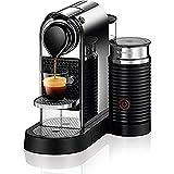 Nespresso CitiZ&Milk Capsule Coffee Machine for Espresso or Lungo, with Aeroccino Milk Frother (New Design)  - Chrome
