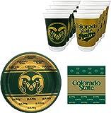 Westrick Colorado State Rams Party Supplies - 73 pieces